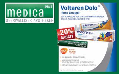 Voltaren Dolo -20% | Monatsaktion September von MedicaPlus