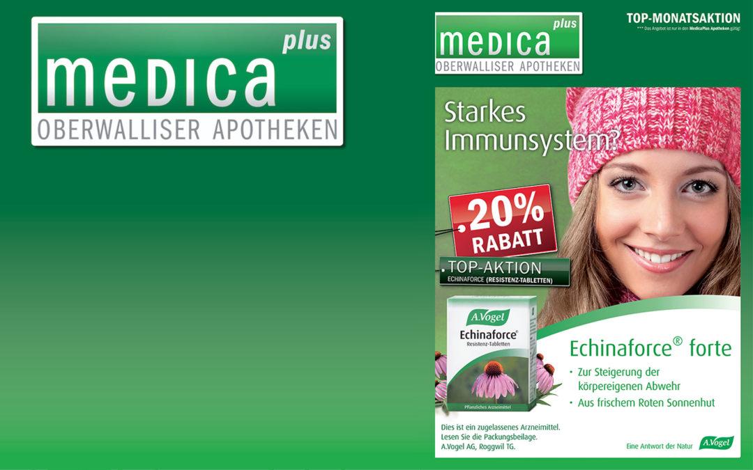 20% Rabatt auf Echinaforce® forte | MedicaPlus – Monatsaktion Oktober