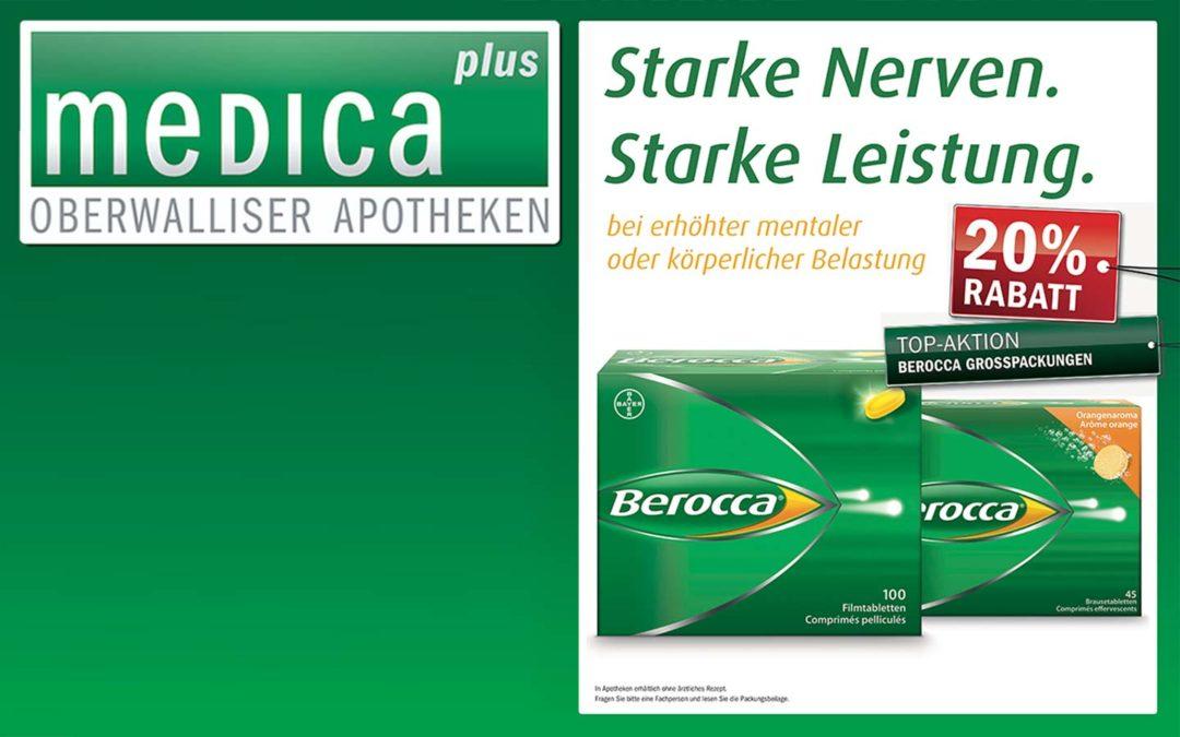 Monatsaktion Februar: 20% auf Berocca® Grosspackungen – profitieren Sie noch heute!
