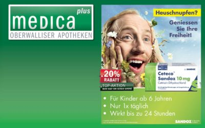 Monatsaktion April: 20% auf Ceteco® Sandoz