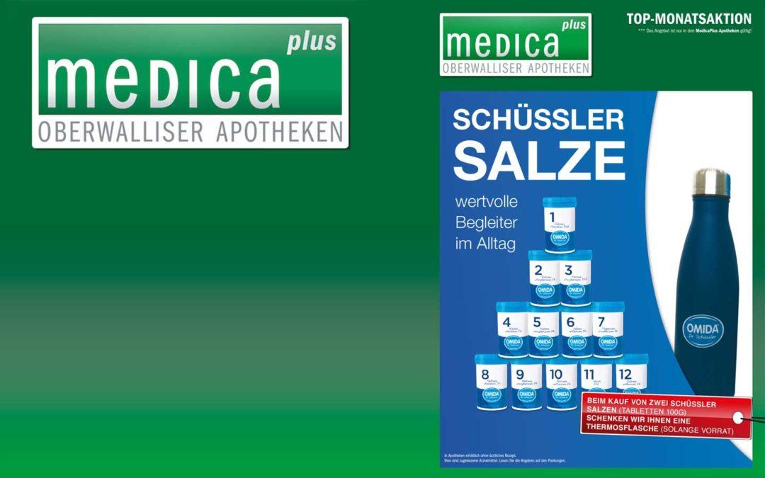 Monatsaktion Mai Schüssler Salze Apotheke Brig und Glis