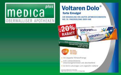 Monatsaktion September: Voltaren Dolo® forte emulgel